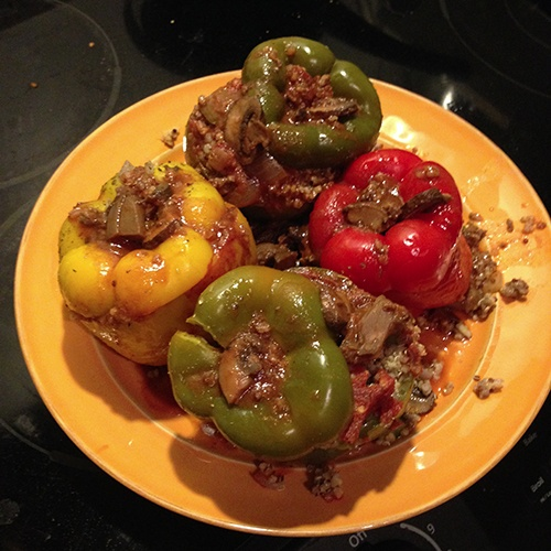 Sunday Stuffed Peppers